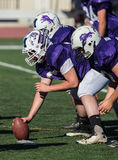 Offensive Line Stock Photography