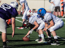 Offensive Line Royalty Free Stock Photos