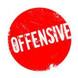 Offensive rubber stamp Royalty Free Stock Image