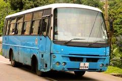 Offentlig buss i Seychellerna Royaltyfria Foton