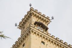 offentlig byggnad marino san Royaltyfria Foton
