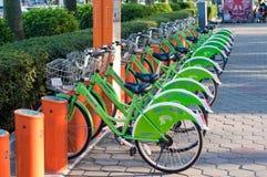 offentlig cykel Royaltyfri Foto