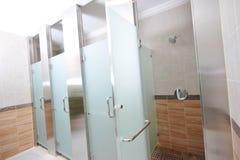 offentlig dusch Arkivfoton