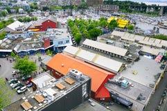 offentlig granvilleömarknad Fotografering för Bildbyråer