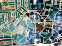 Offentlig konst: Mosaik Arkivbild