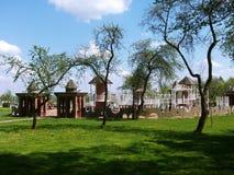 Offentlig lekplats för barn Royaltyfri Foto
