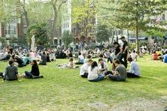 offentlig london park Arkivbild