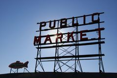 offentlig marknad Royaltyfri Fotografi
