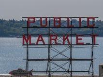 Offentlig marknad i Seattle Royaltyfria Bilder