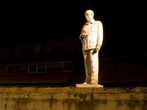 Offentlig monument, staty till den italienska tidigare premiärministern Arkivbild
