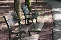 offentlig park Arkivbild