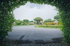 offentlig park Fotografering för Bildbyråer