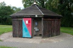 offentlig toalett arkivfoto
