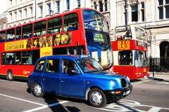 offentlig transport Arkivfoto