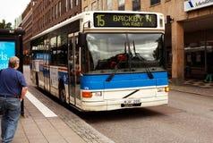Offentlig transport, Vasteras, Sverige Arkivbilder