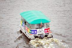 Offentlig vattenbuss Arkivbilder