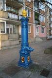 Offentlig vattenpump Royaltyfri Fotografi