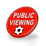 offentlig visning stock illustrationer
