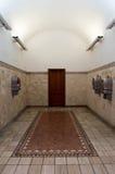Offentliga telefoner, Siena, Italien Arkivfoton