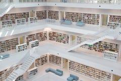 Offentligt bibliotek Arkivbild