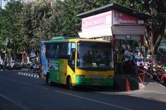 Offentligt indonesiskt trans. Fotografering för Bildbyråer
