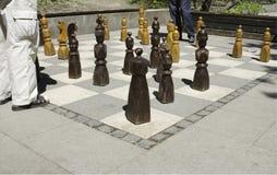 offentligt schack Royaltyfri Foto
