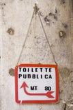 offentligt tecken arkivbild