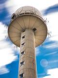 Offentligt torn för radarstation Royaltyfria Bilder
