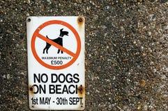 Offentligt varningstecken Royaltyfri Foto