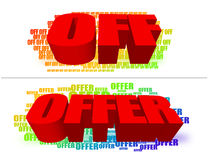 Offer Royalty Free Stock Images