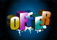 Offer Royalty Free Stock Photos