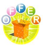Offer logo Royalty Free Stock Photos