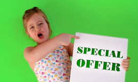 The offer Royalty Free Stock Images