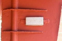 Offer- anoder på skeppskrov är högt aktiva metaller arkivfoton