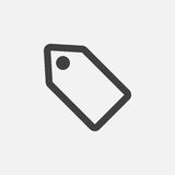 Offer coupon icon, vector logo, linear pictogram isolated on white, pixel perfect illustration. Offer coupon icon, vector logo, linear pictogram isolated on royalty free illustration