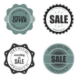 Offer labels Royalty Free Stock Photography