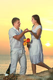Offer of marriage Stock Image