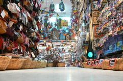 Offer in the medina. In the central part of the old town in Sousse is located in Medina where residents Susa can provide basic household necessities among other Stock Photo