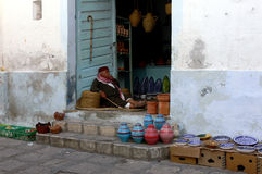 Offer in the medina Stock Image