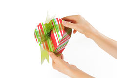 Offer present box Royalty Free Stock Photo