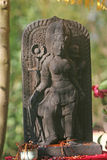 Offering balinese sculpture Royalty Free Stock Image
