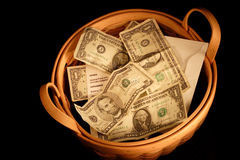 Offering Basket Stock Images