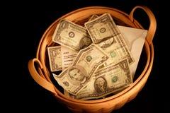 Offering Basket stock images