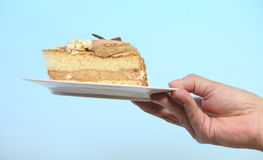 Offering cake Royalty Free Stock Images