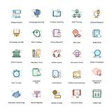 Elearning Vector Icons Set. We are offering elearning icons set. Creatively designed elements are intended to be used for education purpose. Seize this alterable stock illustration