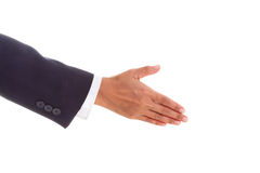 Offering handshake to you Stock Photos