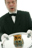 Offering a house Stock Photos