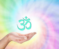 Offering Om Symbol - Stock Photography