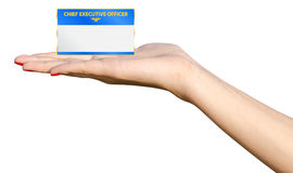 Offering Promotion To Chief Executive Officer Royalty Free Stock Image
