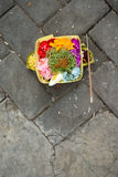 Offerings, Bali, Indonesia Stock Photography